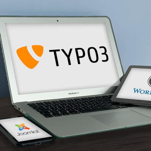 TYPO3 vs. WordPress vs. Joomla!