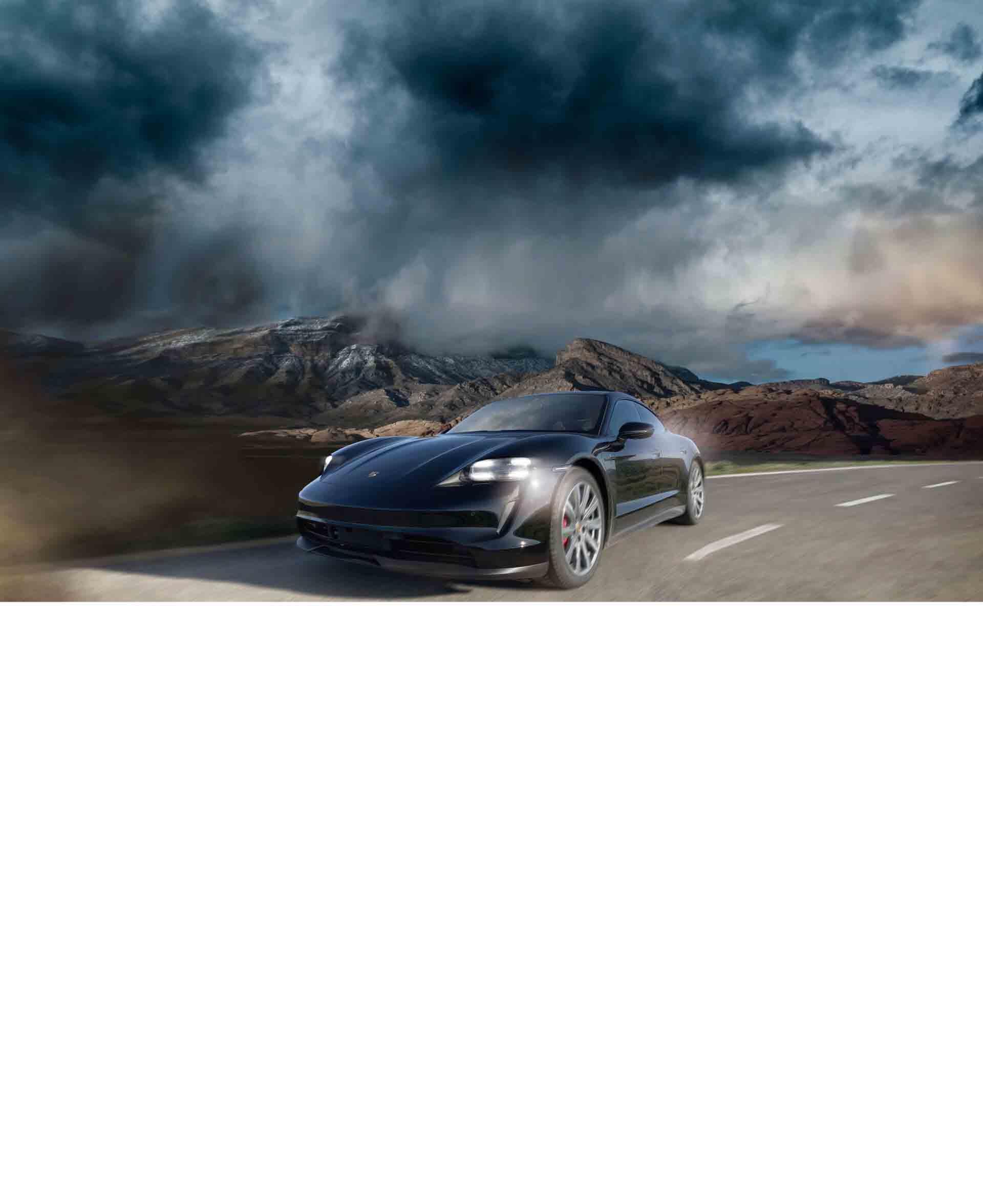 Markenidentifikation Porsche Taycan