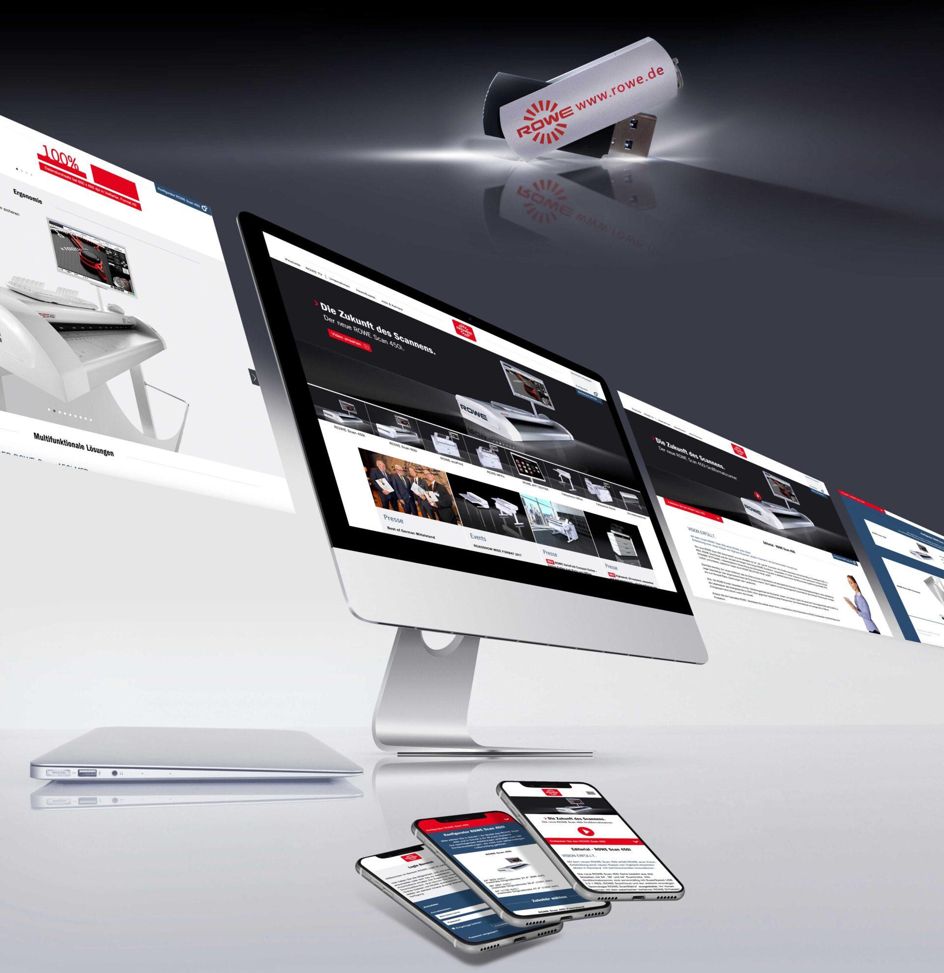 Webentwicklung und Webdesign