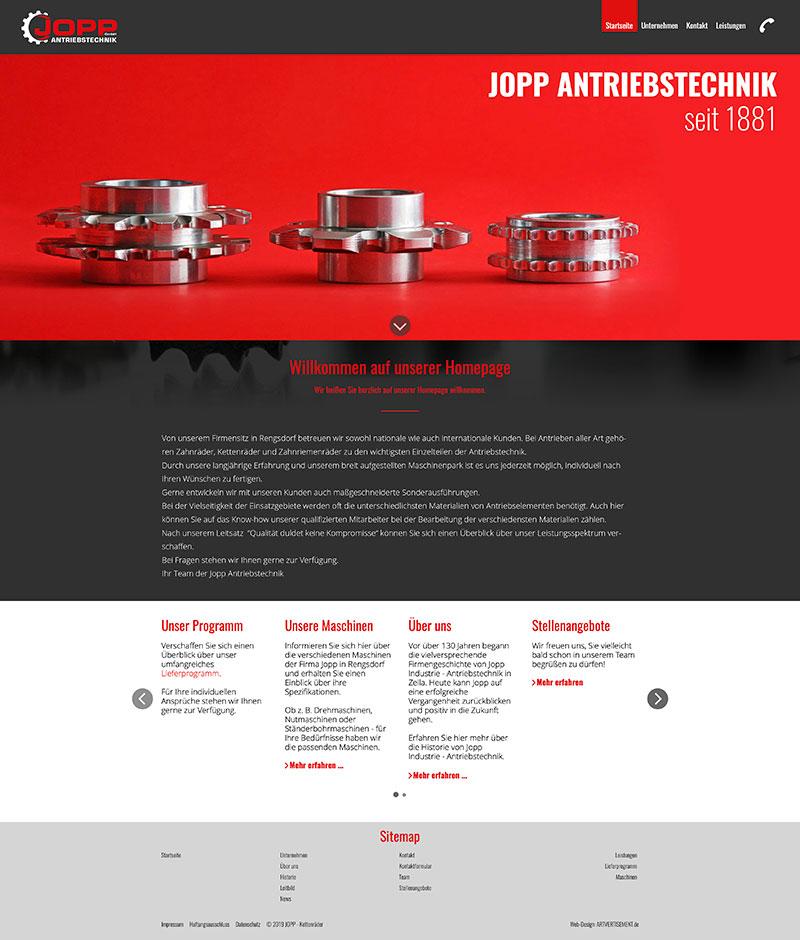 Websites für den Mittelstand