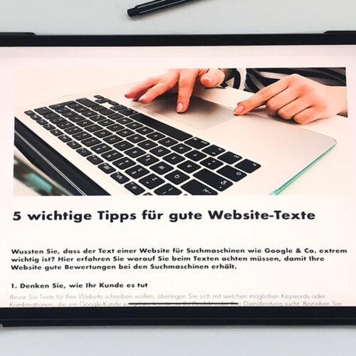 So überarbeiten Sie Ihre Website-Inhalte